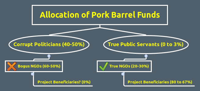 allocation of pork barrel funds