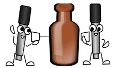bottle and twin